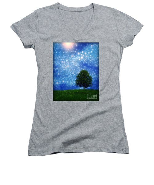 Heaven And Earth Women's V-Neck T-Shirt