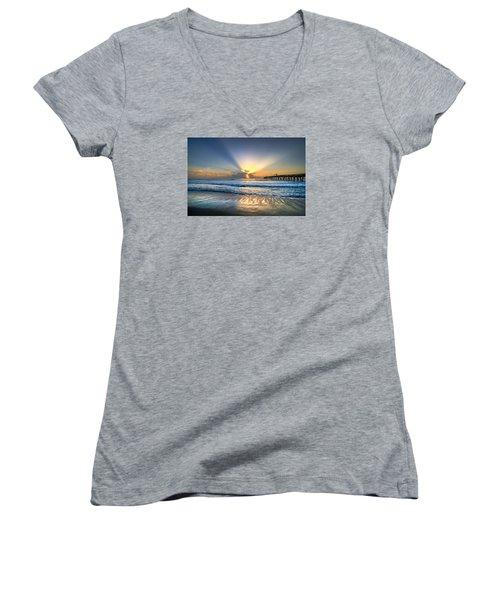 Heaven's Door Women's V-Neck T-Shirt