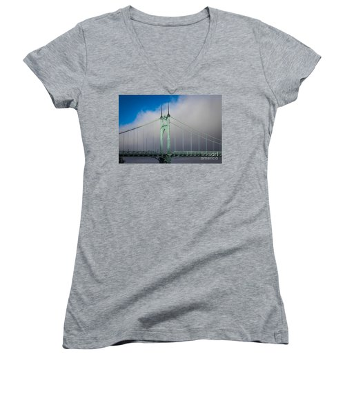 Heaven's Gate Women's V-Neck (Athletic Fit)