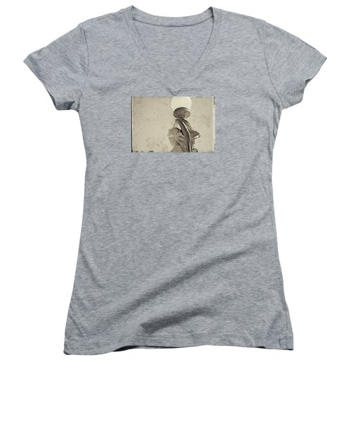 Held High Women's V-Neck T-Shirt
