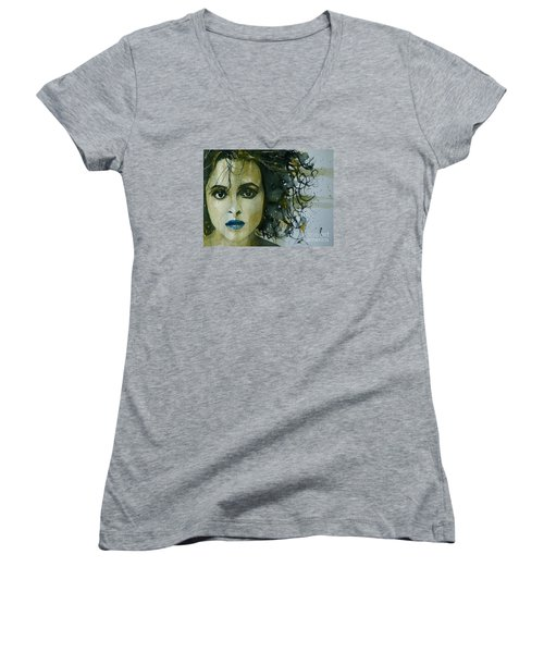 Helena Bonham Carter Women's V-Neck T-Shirt