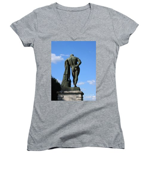 Hercules  Women's V-Neck T-Shirt