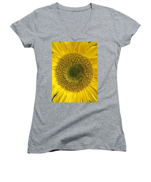 Here Comes The Sun.... Women's V-Neck (Athletic Fit)