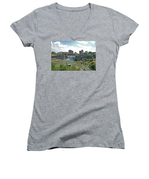 High Falls Women's V-Neck T-Shirt