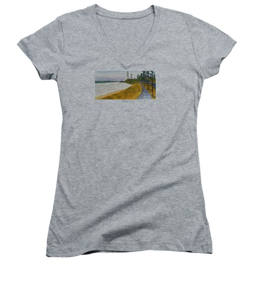 High Tide  Women's V-Neck T-Shirt