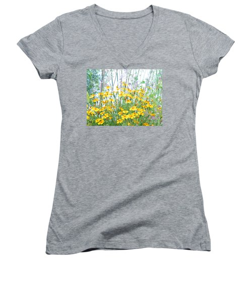 Holding The Foreground Women's V-Neck (Athletic Fit)