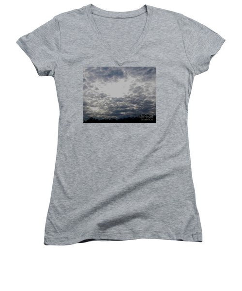 Hole In The Sky Women's V-Neck T-Shirt