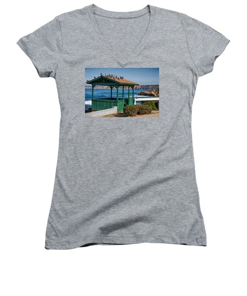 Home By The Sea Women's V-Neck