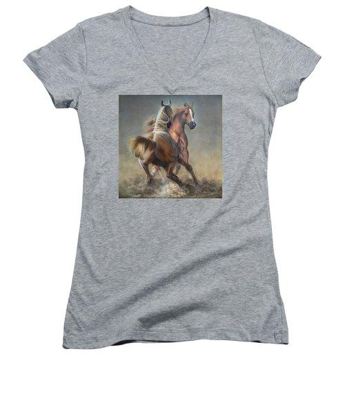 Horseplay Women's V-Neck (Athletic Fit)