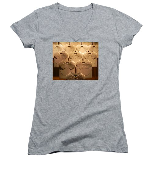 Louis Vuitton Window Display Women's V-Neck (Athletic Fit)