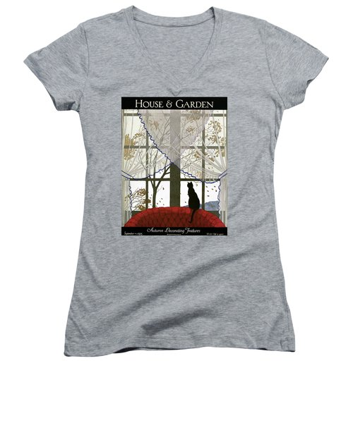 House And Garden Cover Women's V-Neck