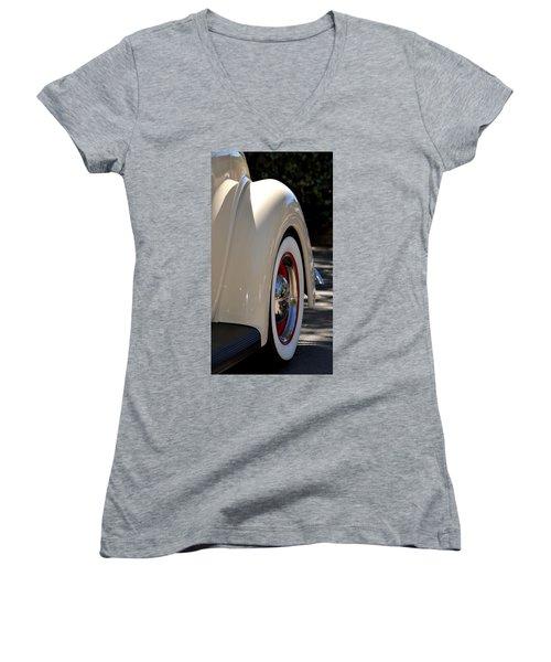 Women's V-Neck T-Shirt (Junior Cut) featuring the photograph Hr-40 by Dean Ferreira