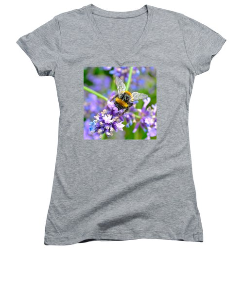 Hungry Bee Women's V-Neck