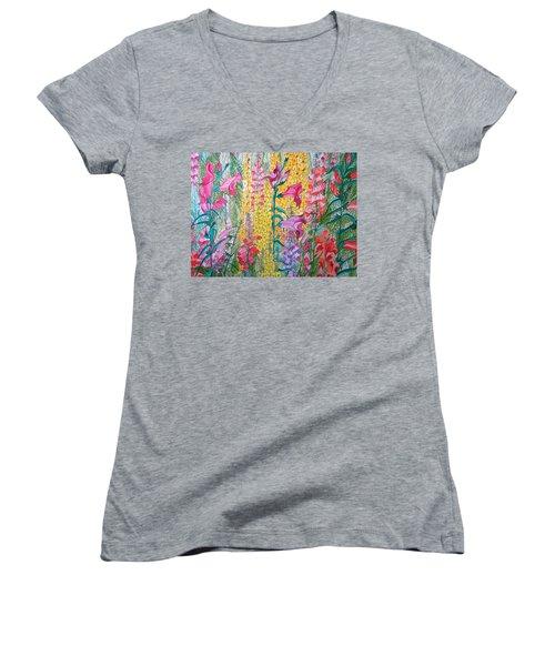 Hybrids 4 Women's V-Neck T-Shirt
