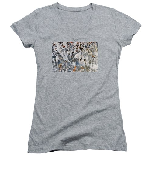 Ice Bubbles  Women's V-Neck (Athletic Fit)