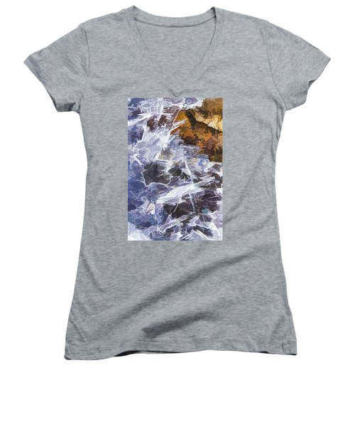 Ice Water Women's V-Neck (Athletic Fit)