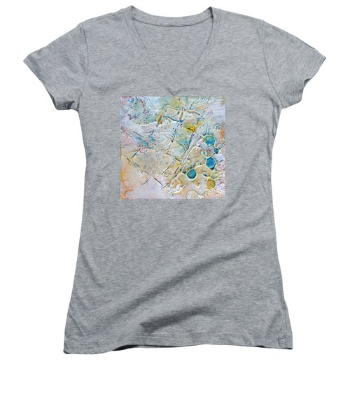 Iced Texture I Women's V-Neck