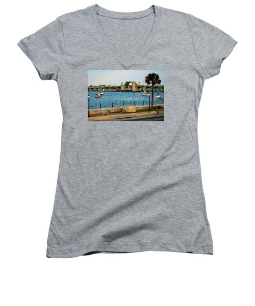Idyllic Women's V-Neck (Athletic Fit)