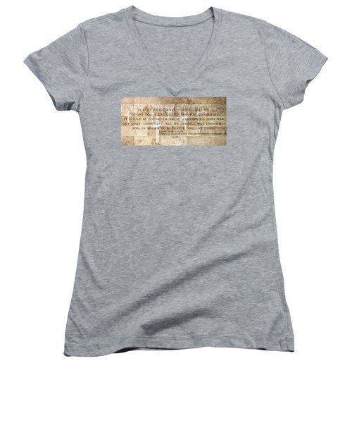 If Ever Proof Were Needed Women's V-Neck T-Shirt