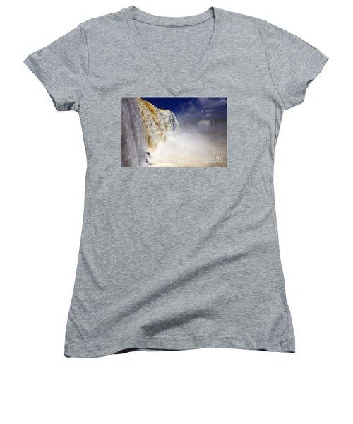 Iguazu Falls I Women's V-Neck T-Shirt