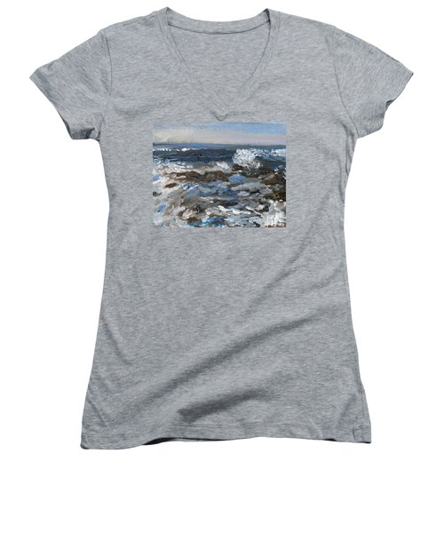 I'll Have A Water On The Rocks Please Women's V-Neck