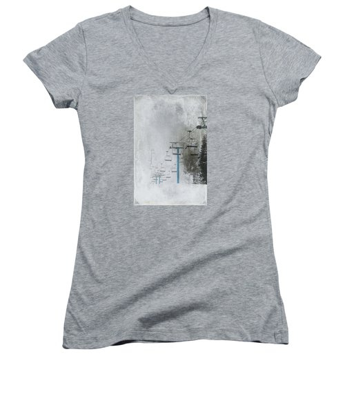 In Anticipation Women's V-Neck T-Shirt