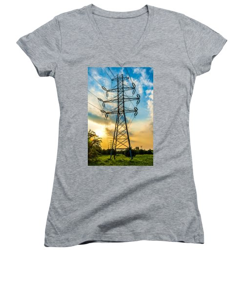 In Chains Women's V-Neck
