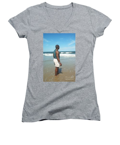 In Deep Thought Women's V-Neck