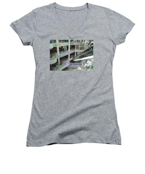 In God We Are Women's V-Neck T-Shirt