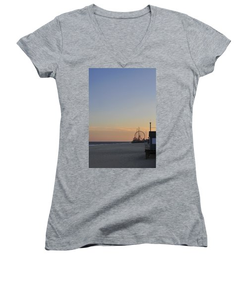 In The Distance Women's V-Neck
