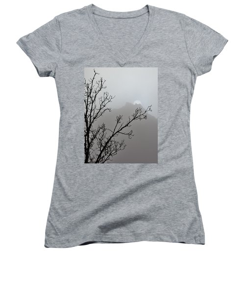 In The Silence Women's V-Neck T-Shirt