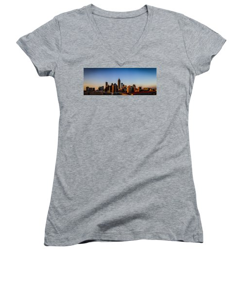 Indianapolis Skyline - South Women's V-Neck T-Shirt