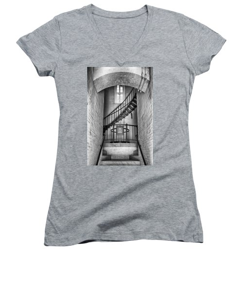 Into The Light Women's V-Neck T-Shirt