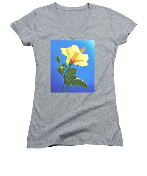Into The Light Women's V-Neck