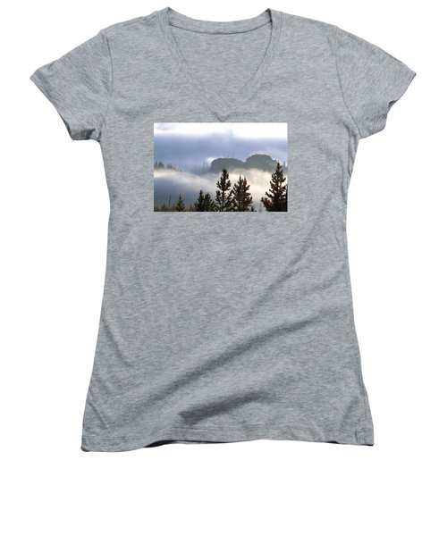 Into The Mist Women's V-Neck (Athletic Fit)
