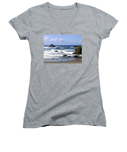 Invigorating Sea Air Women's V-Neck