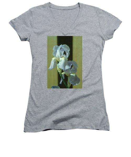 Iris 2 Women's V-Neck T-Shirt (Junior Cut)