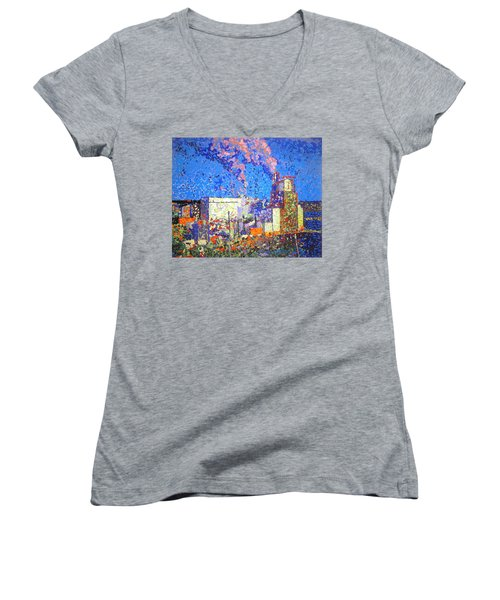 Irving Pulp Mill II Women's V-Neck