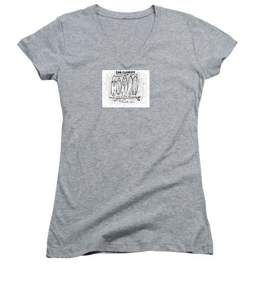Is My Board Done Yet Women's V-Neck (Athletic Fit)