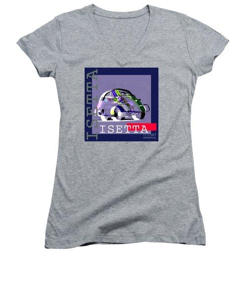 Isetta Women's V-Neck (Athletic Fit)