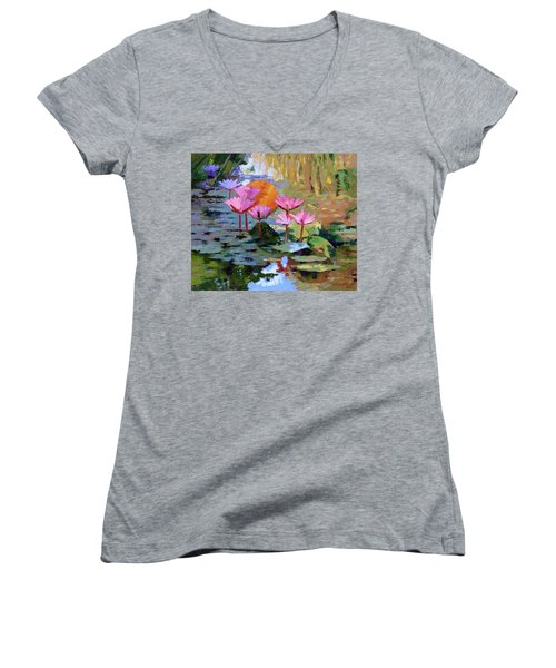 It Is Only A Dream Women's V-Neck (Athletic Fit)