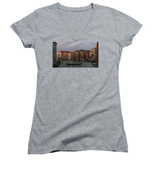 Italian Evening Women's V-Neck T-Shirt