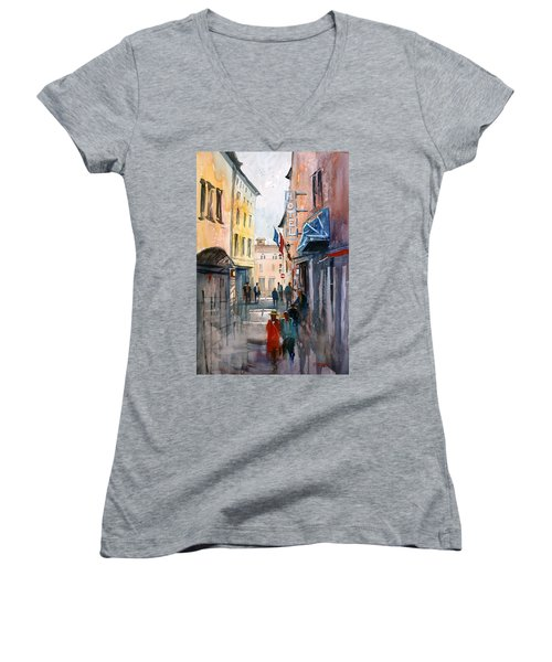 Italian Impressions 3 Women's V-Neck (Athletic Fit)