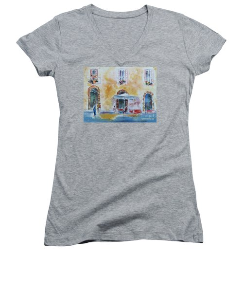 Italian Piazza Women's V-Neck