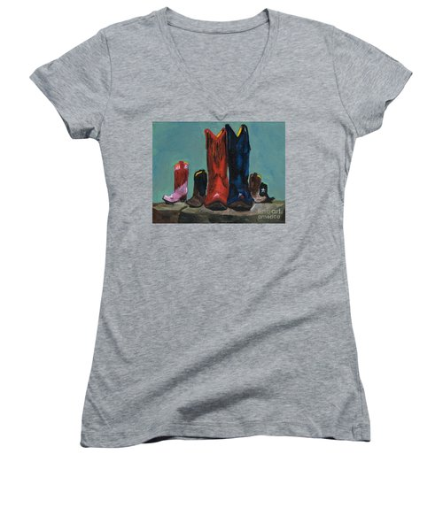 It's A Family Tradition Women's V-Neck