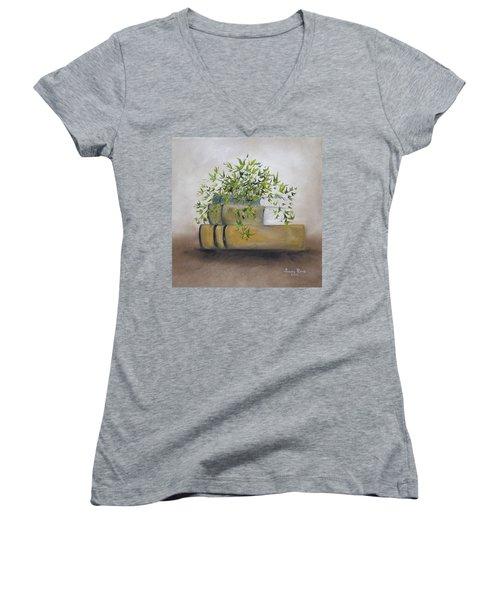 Ivy League Women's V-Neck T-Shirt