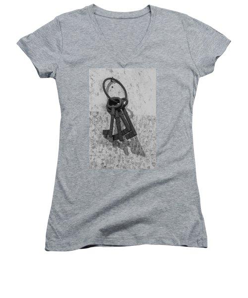 Jail House Keys Women's V-Neck