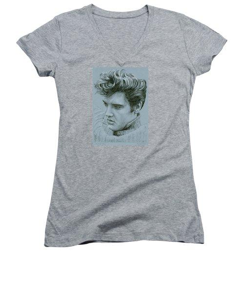 Jailhouse Rock Women's V-Neck T-Shirt