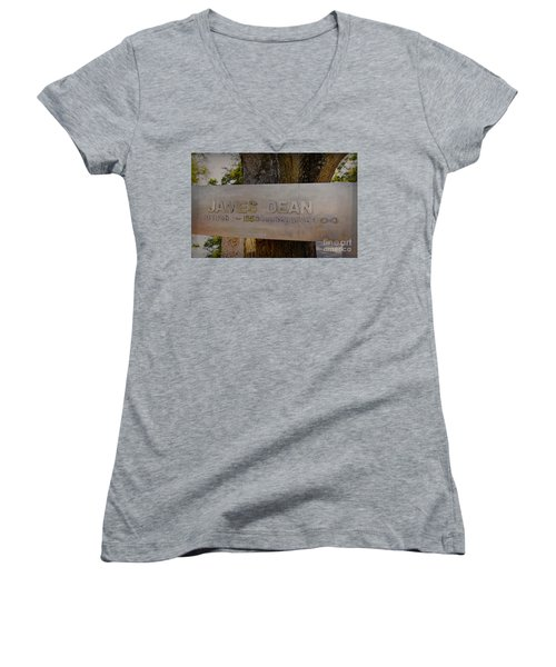 James Dean James Dean Women's V-Neck T-Shirt
