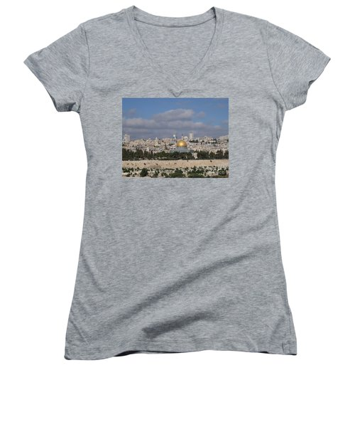 Jerusalem Old City Women's V-Neck